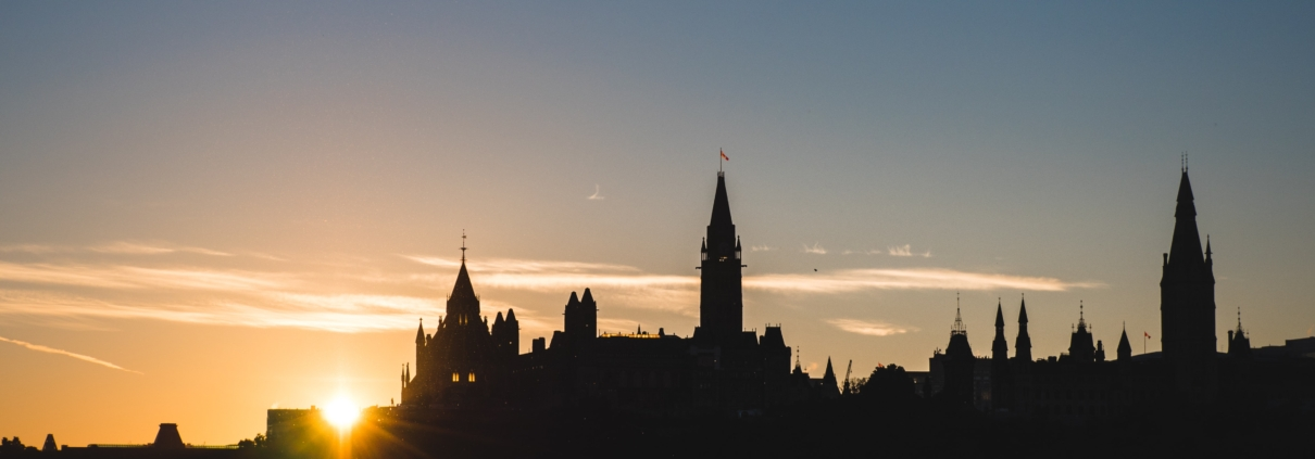 Photo of Parliament Hill in summer