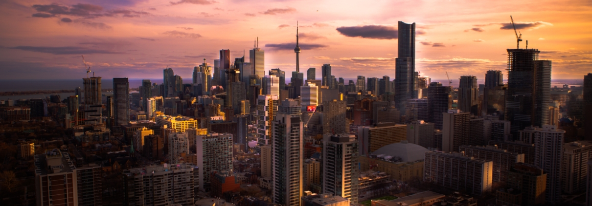 Photo of Toronto in the summer